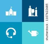 modern  simple vector icon set... | Shutterstock .eps vector #1107622685