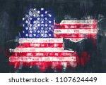 memphis tennessee city map...   Shutterstock . vector #1107624449