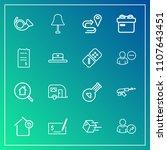 modern  simple vector icon set...   Shutterstock .eps vector #1107643451