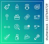 modern  simple vector icon set...   Shutterstock .eps vector #1107644729