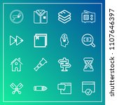 modern  simple vector icon set...   Shutterstock .eps vector #1107646397