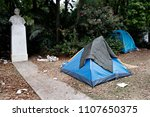 refugees and migrants in a... | Shutterstock . vector #1107650375