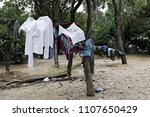 refugees and migrants in a... | Shutterstock . vector #1107650429