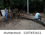 refugees and migrants in a... | Shutterstock . vector #1107651611