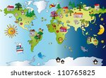 world fantasy | Shutterstock . vector #110765825