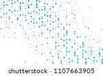light blue vector abstract... | Shutterstock .eps vector #1107663905