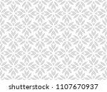 flower geometric pattern.... | Shutterstock . vector #1107670937