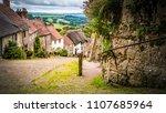 Old Limestone English Houses At ...