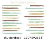 isolated ink brush stroke... | Shutterstock .eps vector #1107692885