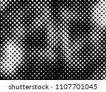 halftone dots texture... | Shutterstock .eps vector #1107701045
