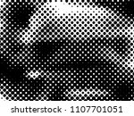 halftone dots texture... | Shutterstock .eps vector #1107701051