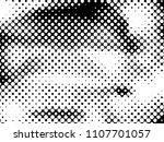 halftone dots texture... | Shutterstock .eps vector #1107701057