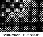 halftone dots texture... | Shutterstock .eps vector #1107701084