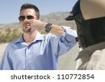 Small photo of Young Man Forced To Take A Field Sobriety Test