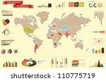 retro set elements of... | Shutterstock .eps vector #110775719
