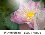 vesak day  buddhist lent day ... | Shutterstock . vector #1107775871