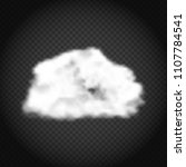 realistic cloud vector... | Shutterstock .eps vector #1107784541