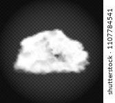 realistic cloud vector... | Shutterstock .eps vector #1107784541