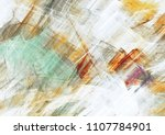 abstract painting color texture.... | Shutterstock . vector #1107784901