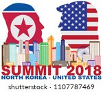 may 14  2018  president donald... | Shutterstock .eps vector #1107787469