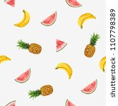 beautiful hand drawn pattern...   Shutterstock .eps vector #1107798389