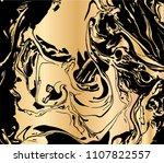 vector illustration of ink... | Shutterstock .eps vector #1107822557