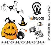 halloween | Shutterstock .eps vector #110785424