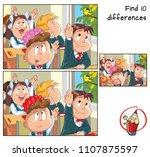 kids in the school. find 10...   Shutterstock .eps vector #1107875597