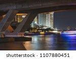under bridge in the city.   Shutterstock . vector #1107880451