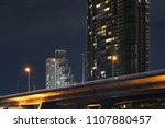 the city on bridge.   Shutterstock . vector #1107880457