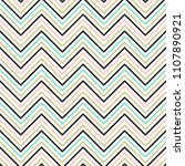 chevron seamless pattern.... | Shutterstock .eps vector #1107890921