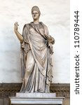 Ancient Roman Sculpture Of A...