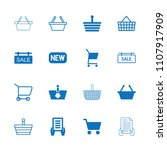 purchase icon. collection of 16 ... | Shutterstock .eps vector #1107917909
