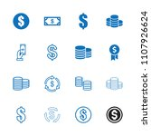 income icon. collection of 16...   Shutterstock .eps vector #1107926624