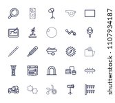 equipment icon. collection of...   Shutterstock .eps vector #1107934187