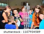 children on vacation children's ... | Shutterstock . vector #1107934589