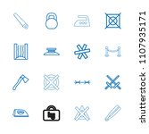 iron icon. collection of 16... | Shutterstock .eps vector #1107935171