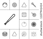 hit icon. collection of 13 hit...   Shutterstock .eps vector #1107941414