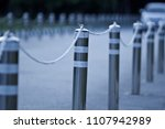 no entry. iron with a chain... | Shutterstock . vector #1107942989