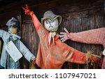 Scarecrows On Strike. These Ar...