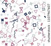 memphis background.  abstract...   Shutterstock .eps vector #1107967607