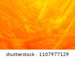 Abstract Orange Color On Yello...