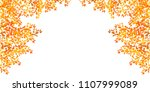 autumn leaves maple autumn... | Shutterstock .eps vector #1107999089