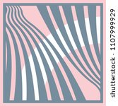 silk scarf with curves lines on ...   Shutterstock .eps vector #1107999929