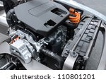detail of engine of electric car   Shutterstock . vector #110801201