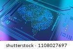 ai 3d advanced technology... | Shutterstock . vector #1108027697