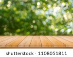 old wood plank with abstract...   Shutterstock . vector #1108051811
