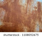 Rust On The Steel Sheet