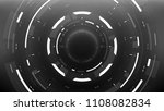 futuristic isolated circle... | Shutterstock .eps vector #1108082834