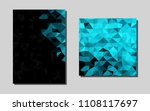 bluevector pattern for posters. ...